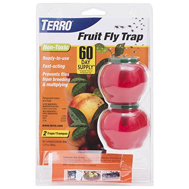TERRO Fruit Fly Trap (2 Pack)
