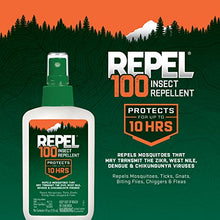 Load image into Gallery viewer, Repel 100 Insect Repellent, Pump Spray, 4-Ounce