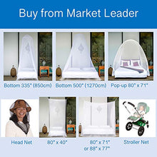Load image into Gallery viewer, EVEN Naturals Premium Mosquito / Insect Head NET