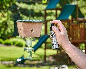 Carpenter Bee Trap Attractant Spray - Pheromone Lure for Wood Bees Bumble Boring Traps for Outdoors, Best House Bait, Not Wasp Repellant, Bore Plugs, Killer Brothers Dust Bee Trap and Goodbye Kit