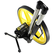 Load image into Gallery viewer, TR Industrial 88016 FX Series Collapsible Measuring Wheel, Yellow/Black