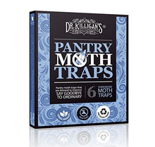 Load image into Gallery viewer, Dr. Killigan's Premium Pantry Moth Traps with Pheromone Attractant (6, Blue)