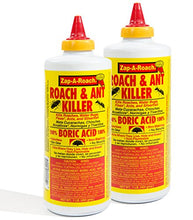 Load image into Gallery viewer, Boric Acid Roach & Ant Killer (1 Lb. Bottle, 2 pack)