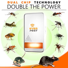 Load image into Gallery viewer, Ultrasonic Pest Repellent Plug-in Indoor/Outdoor (2 Pack)