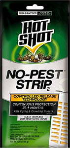 Hot Shot No-Pest Strip Penetrating Vapor Insect Killer (1 Strip)