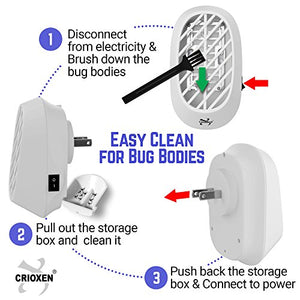 Indoor Plug-in Bug Zapper Electric Mosquito Trap