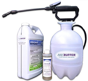 BirdBuffer Bird Repellent 1 Gallon Pump Spray Kit