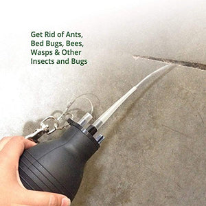 Pest Control Bulb Duster, Use w/ Dusts or Granules