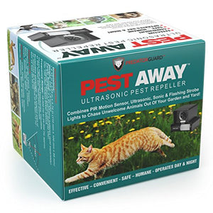 PREDATORGUARD Ultrasonic Outdoor Animal & Cat Repeller with Motion Sensor
