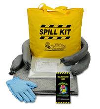 Load image into Gallery viewer, AABACO Universal Spill KIT – Perfect Spill Kits for Trucks - in Portable High Visibility Yellow Tote Bag –for Pesticide or Chemical Spill Response - Oil Containment (1 Kit)