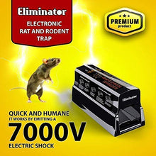 Load image into Gallery viewer, Eliminator Electronic Rodent Trap, Kills Mice, Rats, Chipmunks and Squirrels Without Poison