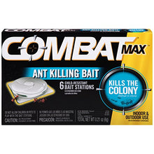 Load image into Gallery viewer, Combat Max Ant Killing Bait Stations, Indoor / Outdoor (6 Stations)