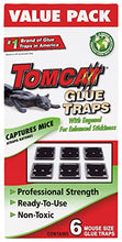 Load image into Gallery viewer, Tomcat Mouse Size Glue Traps, 6-Pack (Eugenol Formula)
