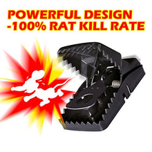 Load image into Gallery viewer, Power Rat/Mouse Killer Snap Trap (6 Pack)