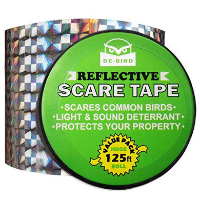 De-Bird Bird Repellent Scare Tape