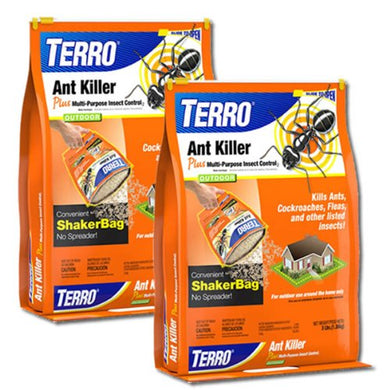 TERRO Granular Ant Killer Plus Insecticide (Two 3 Lb. Bags)