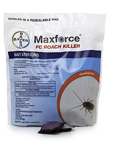 Maxforce FC Roach Bait Stations (1 Bag of 72 Stations)