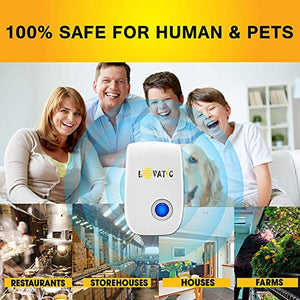LOVATIC Ultrasonic Indoor Plug-In Pest & Rodent Repellent