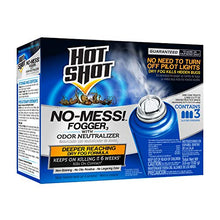 Load image into Gallery viewer, Hot Shot No-Mess! Fogger With Odor Neutralizer (1.2 oz, 3 Pack)