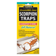 Load image into Gallery viewer, All-Natural Scorpion Traps w/25 Lures (2 Traps)