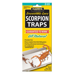 All-Natural Scorpion Traps w/25 Lures (2 Traps)
