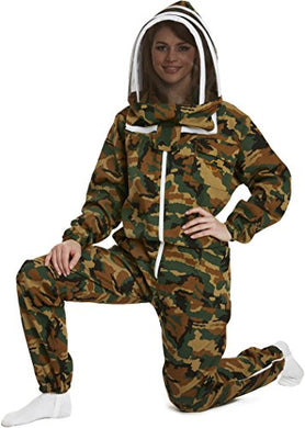 Natural Apiary NA-BKSC-XXS Apiarist Beekeeping Suit, Camouflage