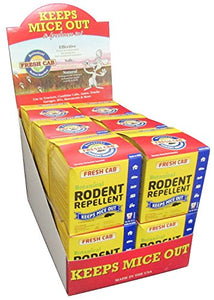 Fresh Cab Natural Botanical Rodent Repellent (48 Scent Pouches)