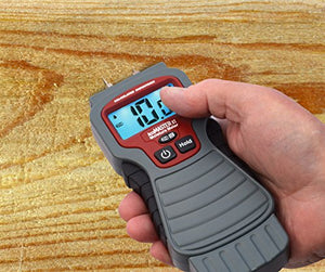 Digital LCD Handheld Moisture Meter, Pin Type, Calculated Industries 7440 AccuMASTER XT