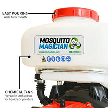 Load image into Gallery viewer, Mosquito Magician Backpack Fogger with 2 Gallons Natural Mosquito Killer Concentrate