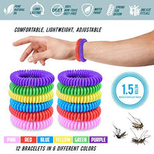 Load image into Gallery viewer, Bugger Off Mosquito Repellent Bracelet, 100% All Natural Non-Toxic Oils (12 Pack)
