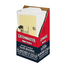 Load image into Gallery viewer, Catchmaster 75M Bulk Mouse and Insect Glue Boards, 75-Pack