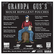Load image into Gallery viewer, Grandpa Gus's Natural Peppermint Oil Mice Repellent Pouches (4 Pack)