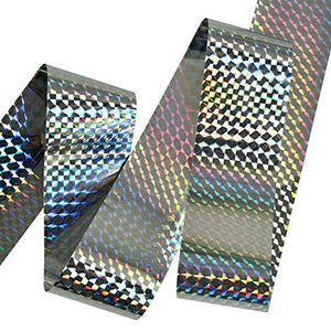 XPCARE Bird Repellent Holographic Scare Tape (150ft x 2in)