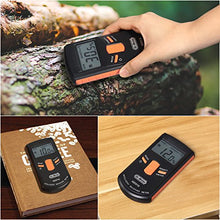 Load image into Gallery viewer, Pinless Digital Wood Moisture Meter (Range 4% - 80% RH; Accuracy: 0.5%)