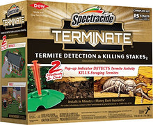 Load image into Gallery viewer, Spectracide Terminate Termite Detection & Killing Stakes (15 Stakes)