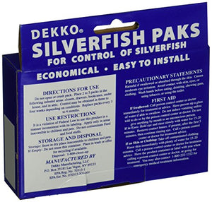 Dekko Silverfish Paks (Pack of 2)