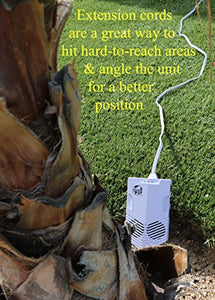 CLEANRTH CB006 Advanced Ultrasonic Bat Repelling System | Demands Bats to Leave!