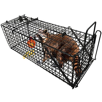 Large Live Animal Trap, Humane Catch Release Cage (31