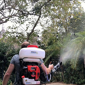 Mosquito Magician Backpack Fogger with 2 Gallons Natural Mosquito Killer Concentrate