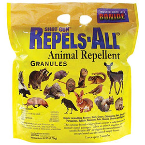 Bonide Chemical Number 6 Repels All Granules, Wildlife Repellent (6 Pounds)