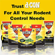 Load image into Gallery viewer, D-Con Indoor Disposable Mouse Poison Bait Station (3 Count)
