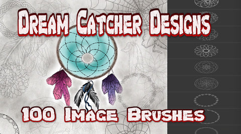 Dream Catcher Design Brushes