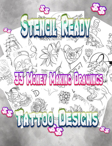 Premade Tattoo Designs #1