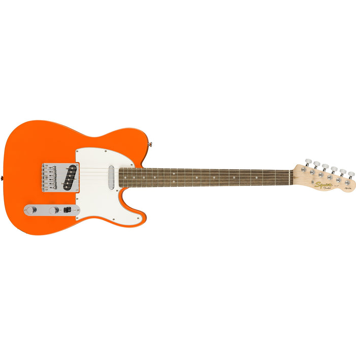Squier Affinity Series Telecaster - Competition Orange w/ Indian Laurel Fingerboard