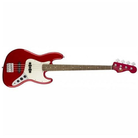 Squier Contemporary Jazz Bass-Metallic Red