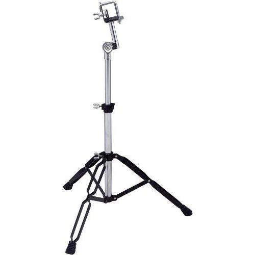 Tycoon Percussion Chrome/Black Plated Standing Bongo Stand