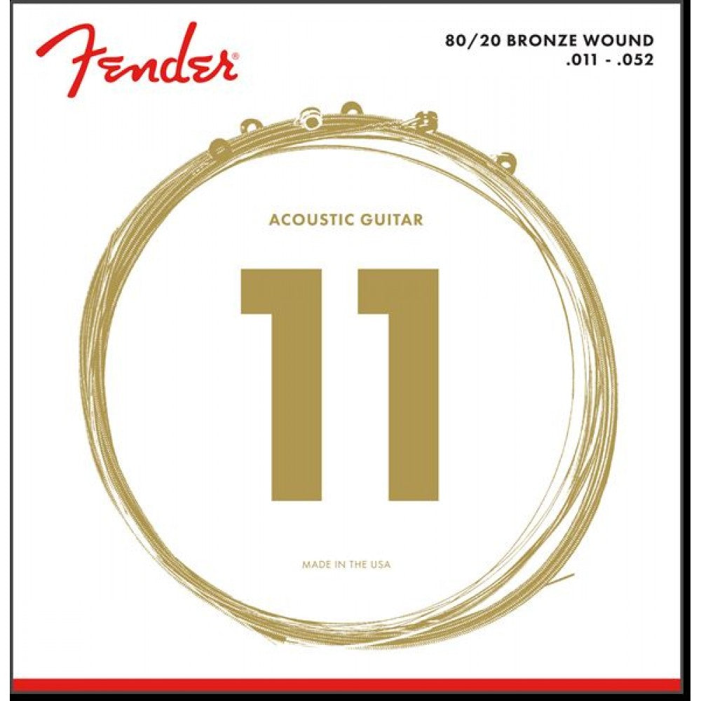 Fender 70XL 80/20 Bronze Light Acoustic Strings