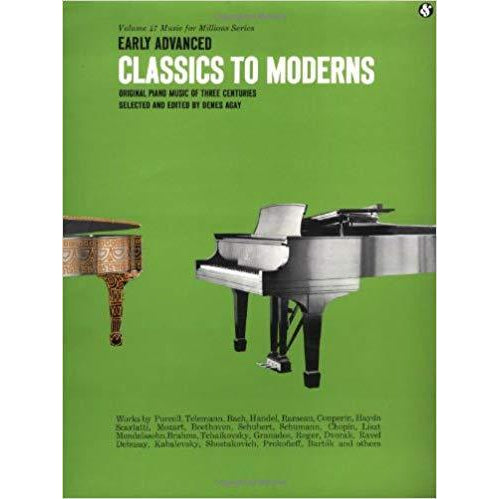 Early Advanced Classics to Moderns: Music for Millions Series