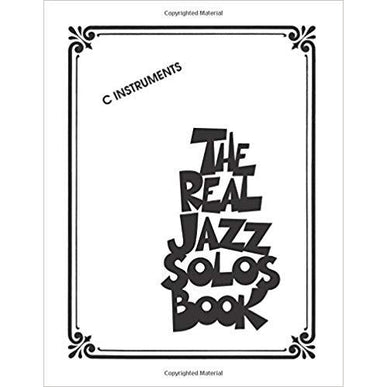 The Real Jazz Solos Book (C INSTRUMENTS)