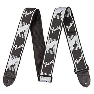 Fender Monogrammed Strap - Black/Light Grey/Dark Grey